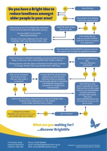 Bright Ideas flowchart infographic