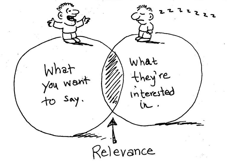 relevance cartoon